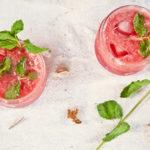 Sommerlicher Melonensmoothie