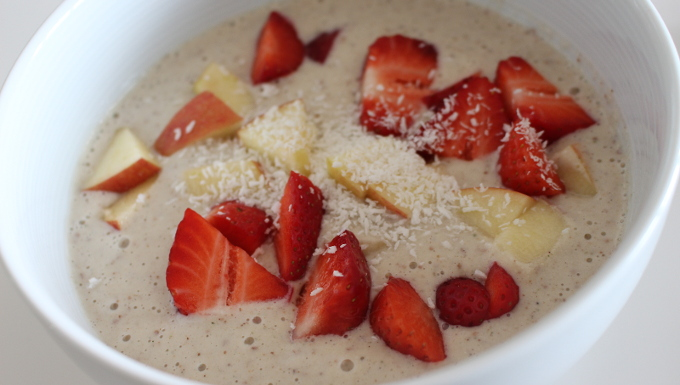 Banana Hemp Smoothie Bowl