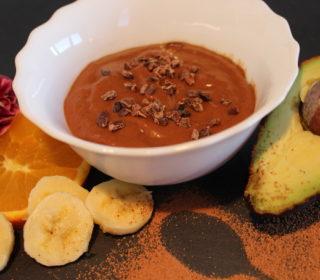 Schoko-Orangen-Pudding