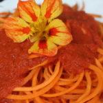 Karotten-Spaghetti